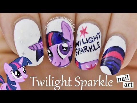 Twilight Sparkle - My Little Pony Nails || Nailed It NZ