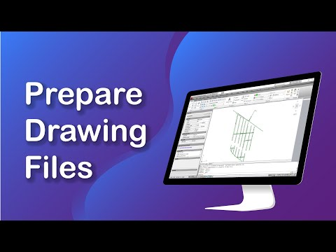 Water Distribution Software: Prepare Drawing File