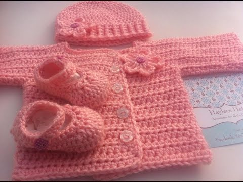 Crochet Showcase Baby Sets Haylees Hats Youtube