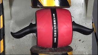 Sturdy fitness equipment vs 200 tons pressure