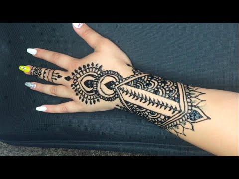 My Henna Tattoo Temporary Tattoo Instant Black Henna Youtube