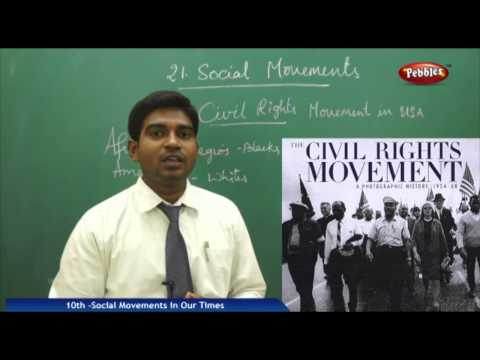 Social Movements in Our Times- Class 10th State Board Syllabus Social Studies