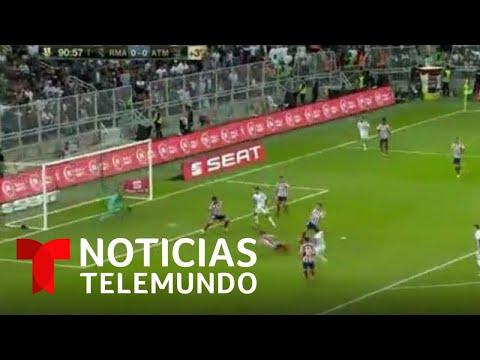 Real Madrid Vence Al Atlético Y Es Campeón De La Supercopa De España | Noticias Telemundo