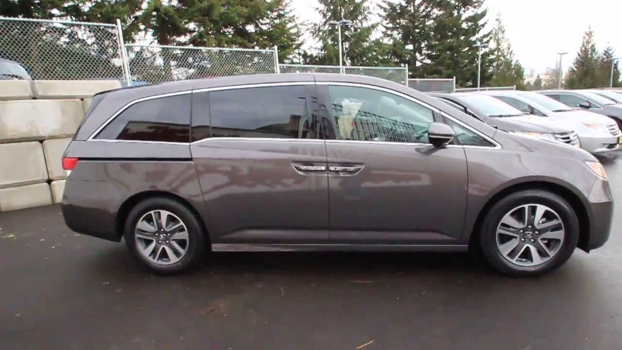 Awesome 2014 Honda Odyssey Touring | Smoky Topaz | EB059633 | Seattle | Renton    YouTube