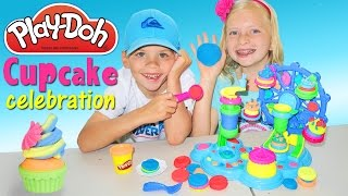 Play Doh Cupcake Celebration Playtime Fun