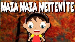 Maza,  maza meitenīte | Latviešu Tautas Dziesmas | Bērnu dziesmas | Латышские детские песни