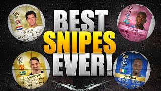 You won't believe these snipes! my best snipes ever on fifa 16