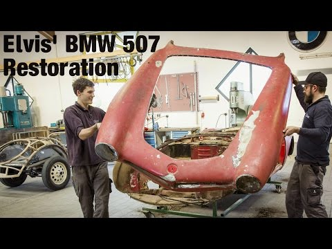 Elvis' BMW 507 Restoration