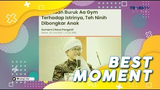 Curahan Hati Anak TEH NINIH, Tentang AA GYM | Best Moment #Rumpi (3\/6\/21)