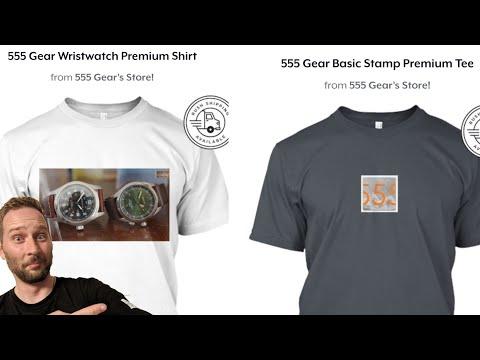 555 Gear Livestream #1 - Teespring, Future Ideas, 50k Subs, & More!