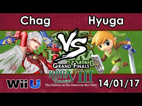 Hail Smash VIII - Chag (Bayonetta) Vs. Hyuga (Toon Link) - Grand Finals - Smash 4