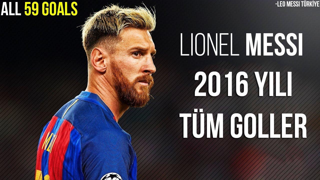 Lionel Messi'nin, - 2016 Yılında Attığı Tüm Goller, Türkçe Spiker • HD