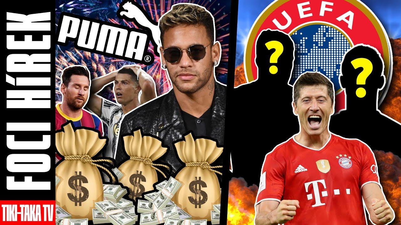 Neymar az új megaszerződésével Messit és CR7-et is lepipálta! Íme az UEFA Év játékosa-díj jelöltjei!