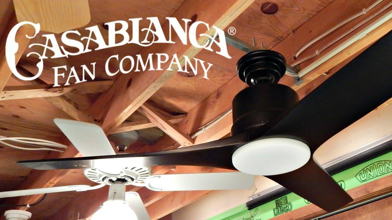Casablanca Piston Ceiling Fan  YouTube