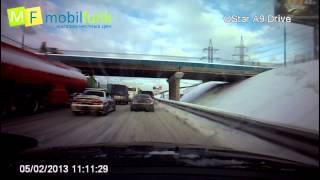 видео Видеорегистратор qstar a9 drive