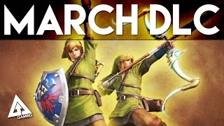 Monster Hunter 4 Ultimate March DLC - The Legend of Zelda, Armor, Weapons and More!