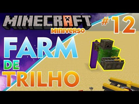 COMO FAZER Um GERADOR De TRILHOS - Minecraft Miniverso #12