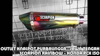 Video Knalpot honda PCX 150 full system Scorpion Rainbow by Key Speed download MP3, 3GP, MP4, WEBM, AVI, FLV Oktober 2018