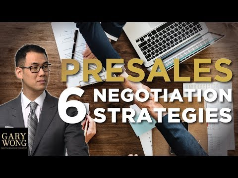 6 Presale Negotiation Strategies Developers Don't Want You To Know