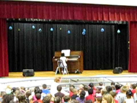 Cali on General Stanford Elementary School Talent Extravaganza