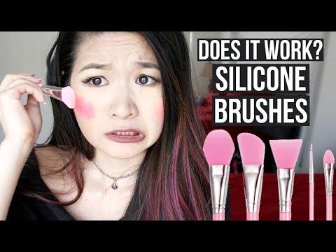 DO SILICONE BRUSHES WORK?  | Eva Chung