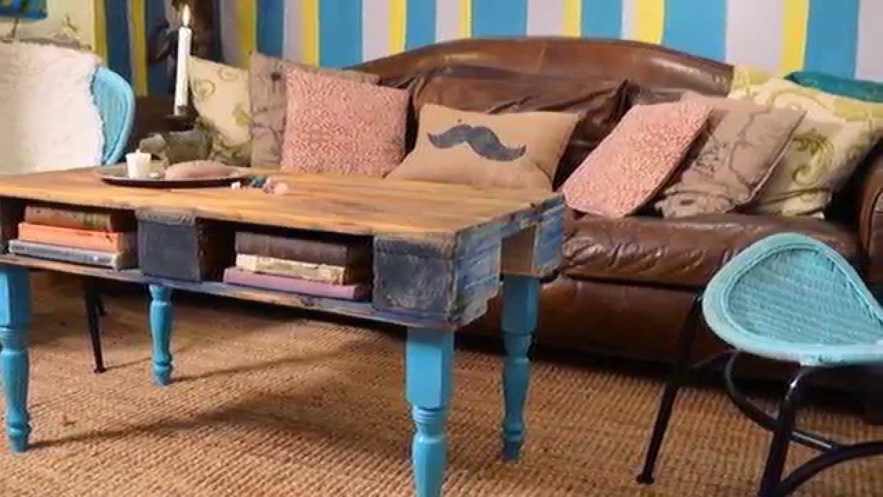 les 30 meilleures id es de meubles de palettes pour votre salon youtube. Black Bedroom Furniture Sets. Home Design Ideas