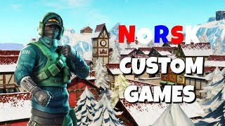 🔥 CUSTOM GAMES | Creator Code: JONO-TSU | NORSK FORTNITE 🔥