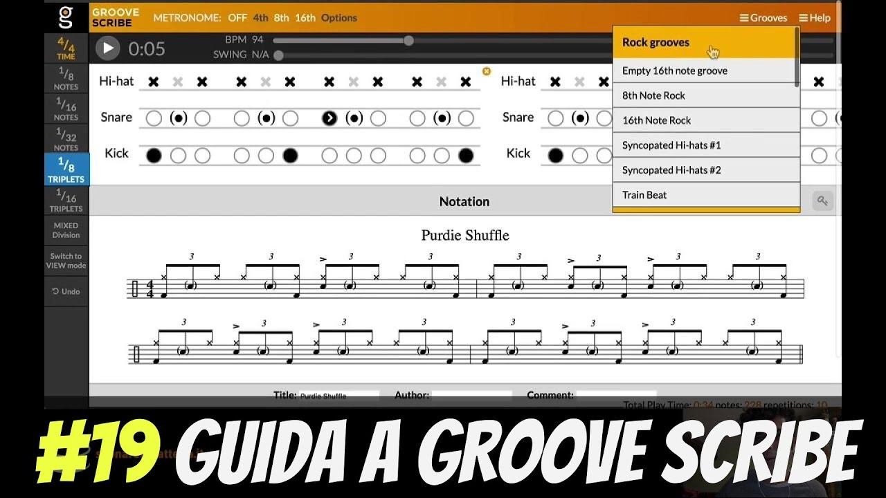 groove scribe