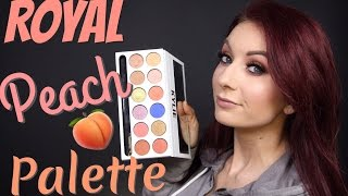 SMELLS LIKE TOXIC CHEMICALS???? | Kylie Cosmetics Royal Peach Palette
