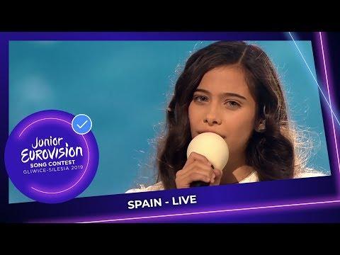 Spain 🇪🇸 - Melani Garcia - Marte - LIVE - Junior Eurovision 2019