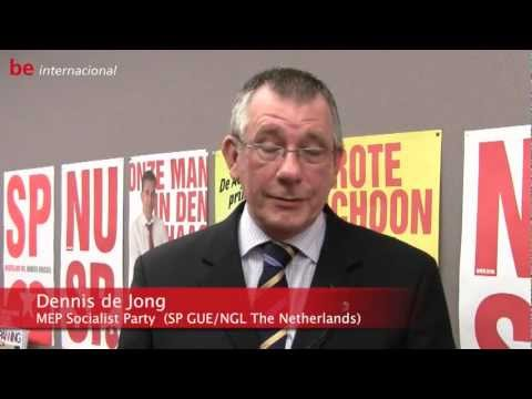 Interview with Dennis de Jong (Socialist Party, GUE/NGL, The Netherlands)