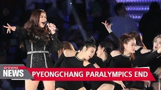 PyeongChang 2018 Paralympics comes to an end on Sunday with its closing ceremony