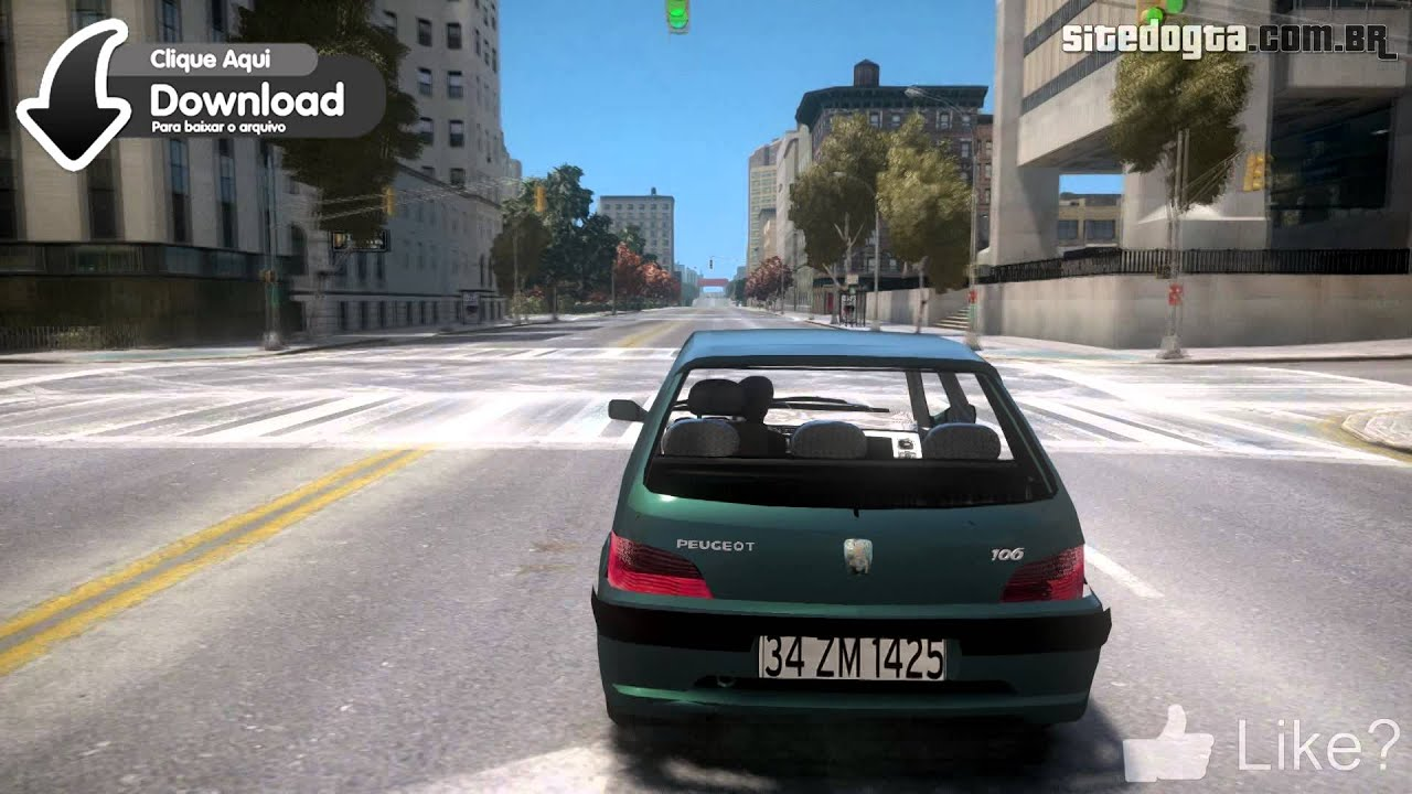 Peugeot 106 Quicksilver Gta Iv Mod Youtube