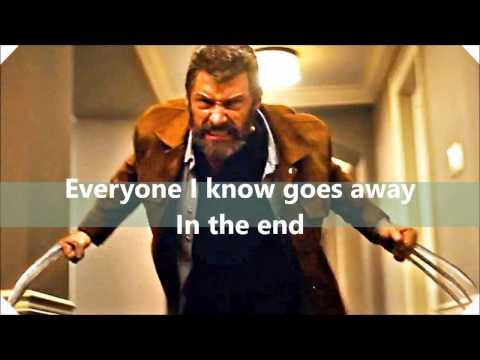 Johnny Cash - HURT (Lyrics) LOGAN (SoundTrack) LOGAN Trailer Song