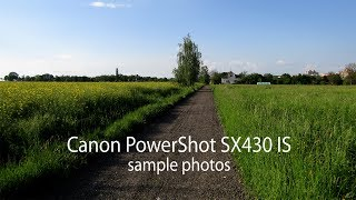 Canon PowerShot SX430 IS Sample shots