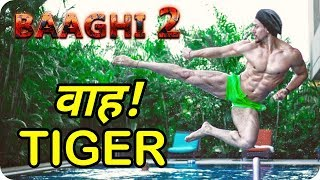 Baaghi 2 2018 Tiger Shroff Action And Stunt Scene Practice