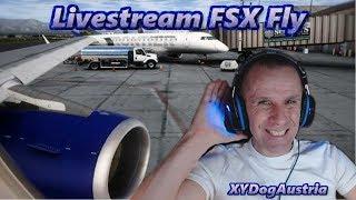 Flight SImulator X**Bodensee Schweiz und mehr Fly ** Livestream Gameplay Deutsch+Facecam 1080p60