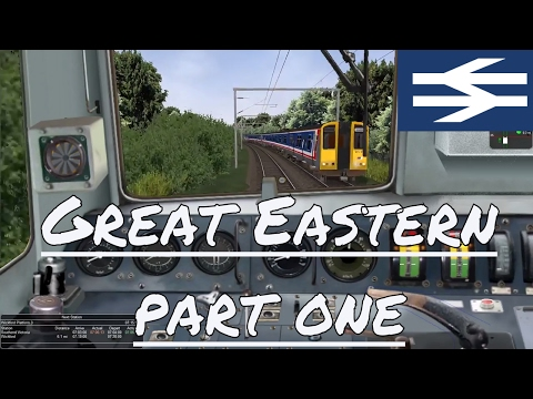 Great Eastern route / BR Class 305 Southend Victoria to Wickford Open Rails / MSTS 1080 HD 60fps