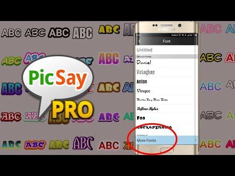 Cara Menambah Font Baru Di Aplikasi Picsay Pro Full Download
