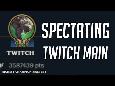 This guy has 3.6 million Twitch mastery points