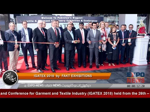 IGATEX 2018 by FAKT at EXPO CENTRE LAHORE   Expo News   Garment and Textile Machinery Exhibition