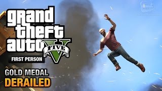 GTA 5 - Mission #53 - Derailed [First Person Gold Medal Guide - PS4]