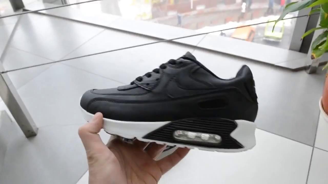 07602872 Кроссовки Nike Air Max 90 черные - YouTube