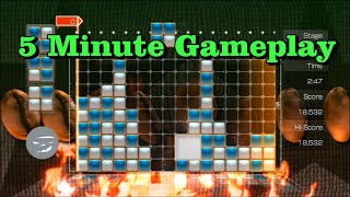 5 Min Gameplay: Lumines Supernova (PS3)