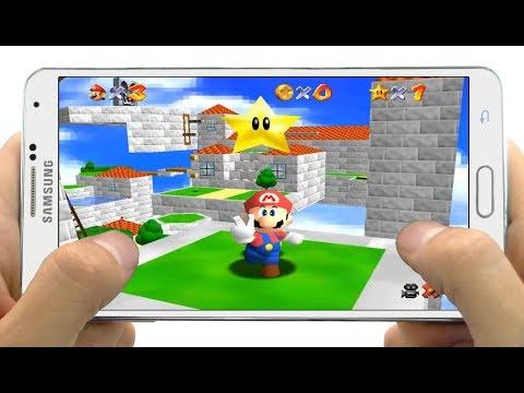 Descarga Juego Super Mario 64 para Celulares Android