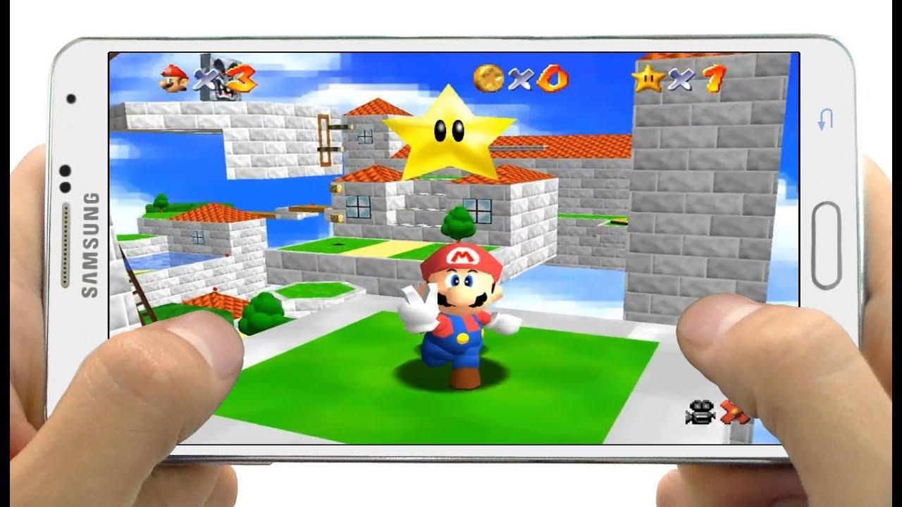 Descarga Juego Super Mario 64 para Celulares Android - YouTube