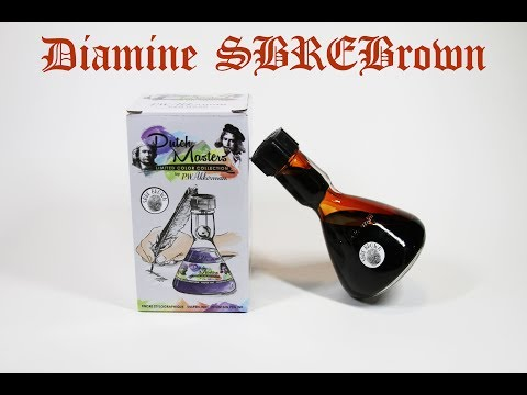 SBREBROWN Fountain Pen Ink: It's Available Again!