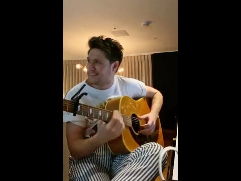 Niall Horan   #togetherathome Instagram Live Performance