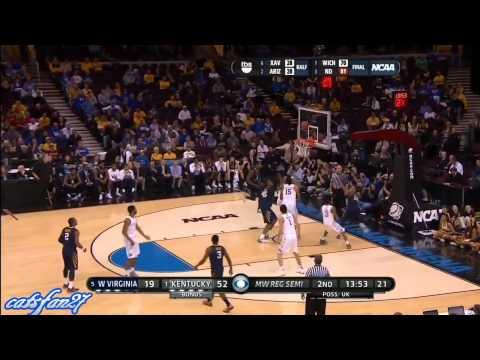 #1 Kentucky vs. #5 West Virginia (NCAA S16) 3/27/15