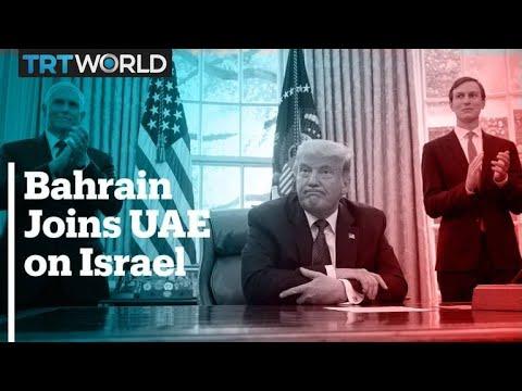 Bahrain joins UAE in normalising ties with Israel